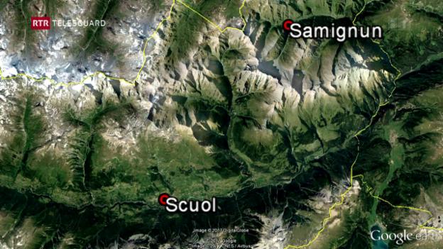 Laschar ir video «Colliaziun territoris da skis Scuol-Samignun resta actualmain visiun»