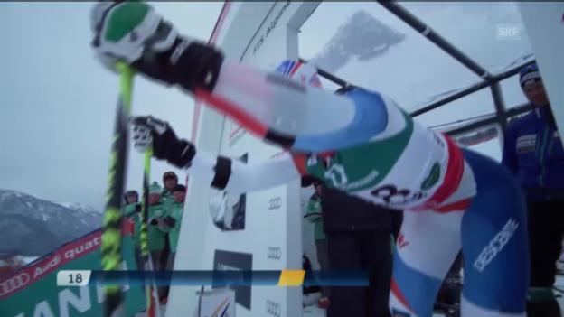 Video «Didier Défagos 2. Lauf» abspielen