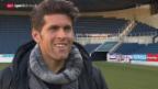 Video «Fussball: Benjamin Huggel über Marco Streller» abspielen