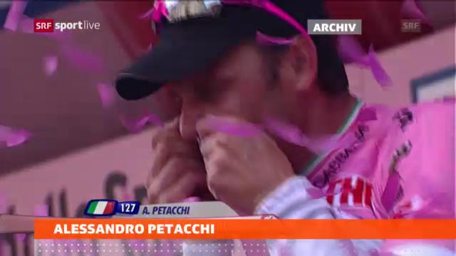 Alessandro Petacchi hört auf