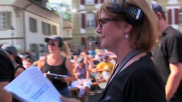 Video ««SRF bi de Lüt – Live»: Gaby Schaad, Aufnahmeleiterin» abspielen