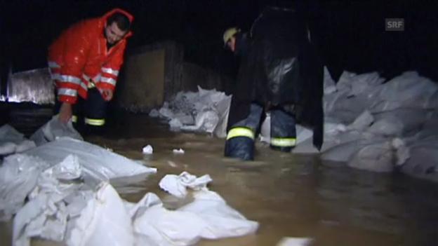 Video «Fluten in Tschechien» abspielen