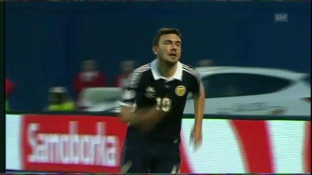 Video «WM-Quali: Kroatien-Schottland» abspielen