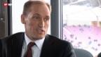 Video «Der Servette-Retter - Warum tut sich Hugh Quennec das an? Das Gespräch» abspielen