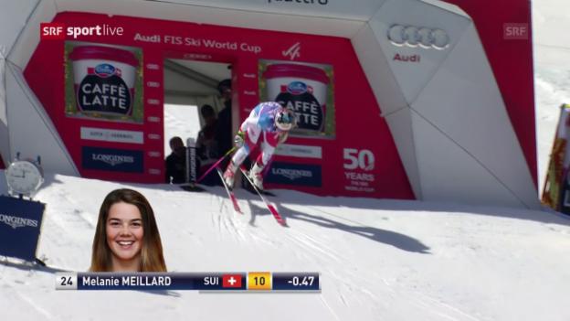 Video «Der 2. Lauf von Mélanie Meillard» abspielen
