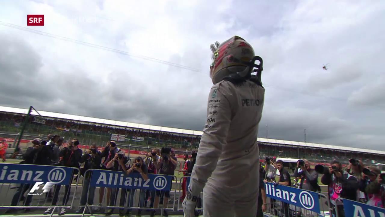 Hamilton holt Pole-Position
