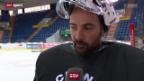 Video «Eishockey: Zu Besuch bei Martin Gerber» abspielen