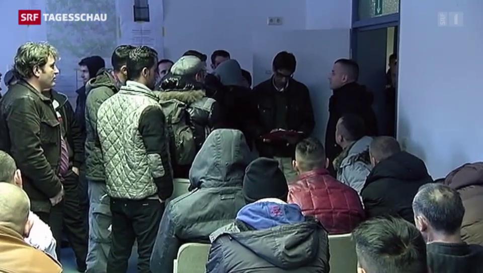 Kosovo-Flüchtlinge fordern Deutschland