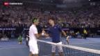 Video «Federer im Halbfinal des Australian Open ausgeschieden» abspielen