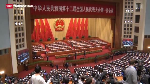 Wen Jiabao nimmt Abschied