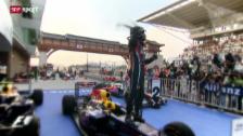 Video «F1: Der alte und neue Weltmeister Sebastian Vettel» abspielen