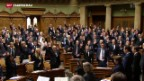 Video «50. Legislatur hat begonnen» abspielen