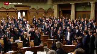 Video «50. Legislatur hat begonnen» abspielen