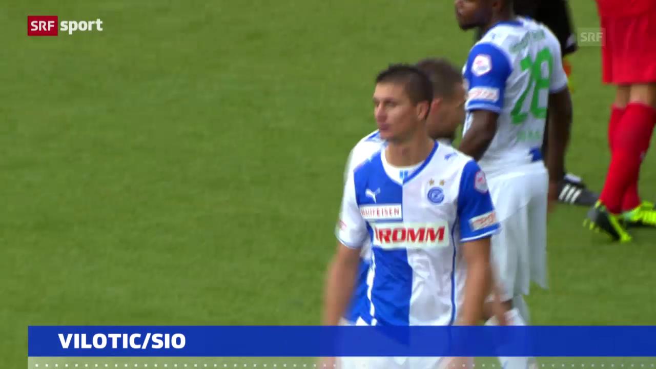 Fussball: 5 Spielsperren gegen Milan Vilotic («sportaktuell»)