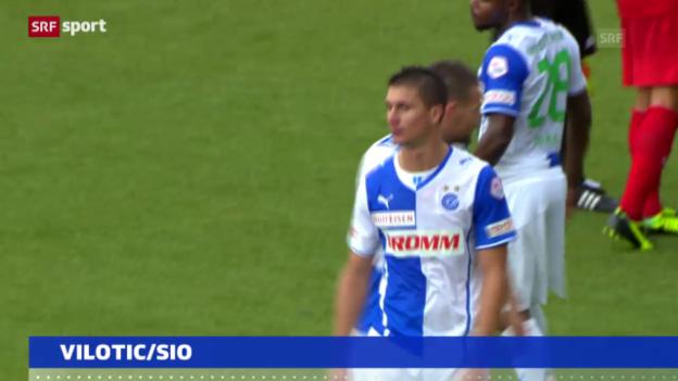 Video «Fussball: 5 Spielsperren gegen Milan Vilotic («sportaktuell»)» abspielen