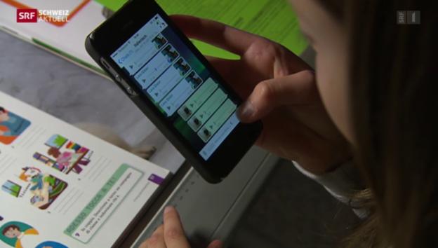 Video «Urner lernen im virtuellen Klassenzimmer» abspielen