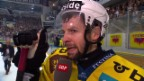 Video «Berns Martin Plüss im Interview nach der Niederlage gegen Lugano» abspielen