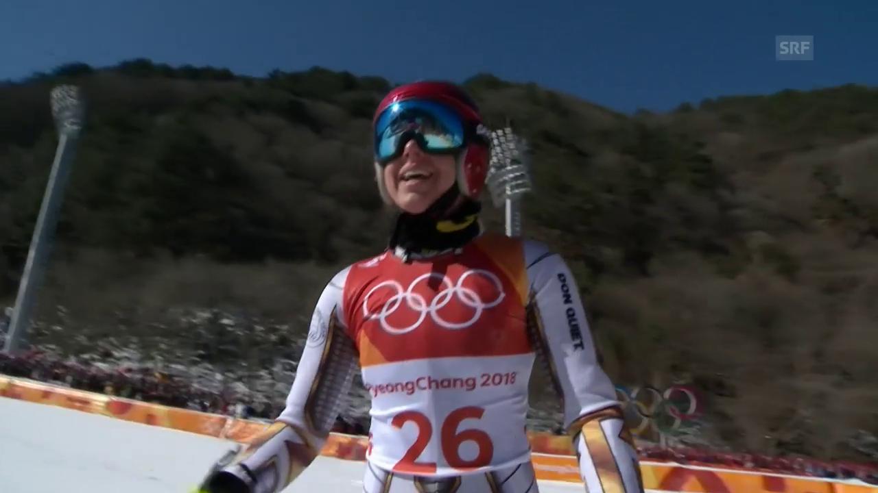 Ester Ledecka: Mit Startnummer 26 zum Sensationssieg