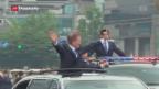 Video «Viel Hoffnung in den neuen südkoreanischen Präsidenten» abspielen