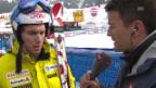 Video «Ski: Weltcup der Männer, Riesenslalom Lenzerheide, Interview mit Carlo Janka («sportlive, 15.03.2014)» abspielen