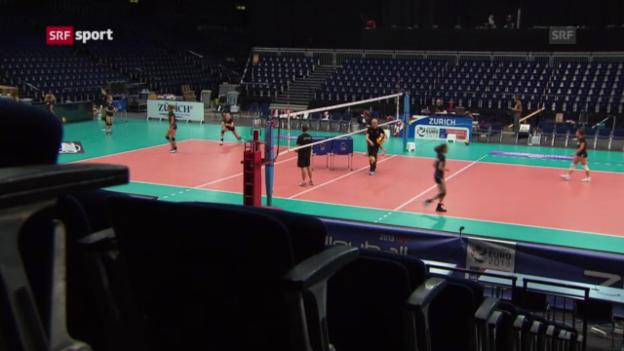 Video «Die Volleyball-Nati vor der Heim-EM» abspielen
