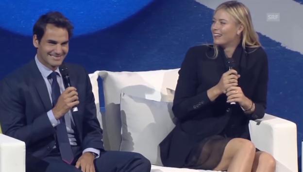Video «Grosse Bescherung bei den Federers» abspielen