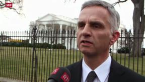Video «Bundespräsident Burkhalter relativiert CS-Hearing» abspielen