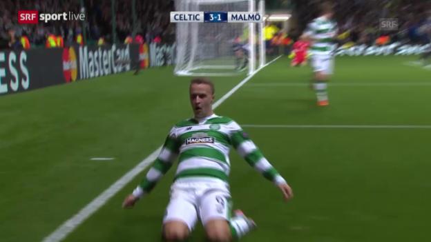 Video «Fussball: Celtic-Malmö» abspielen
