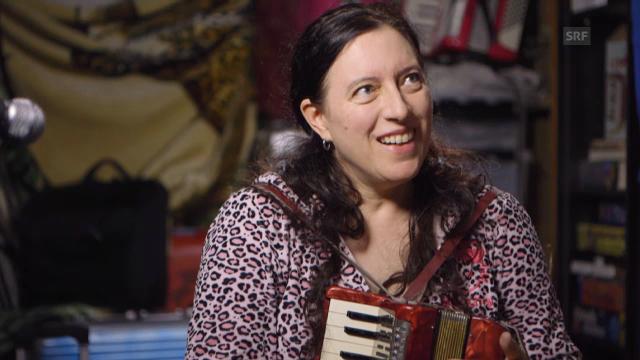 Ausschnitt «Jazz in der Schweiz»: Erika Stucky