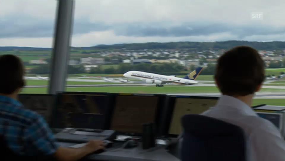 A380 hebt ab