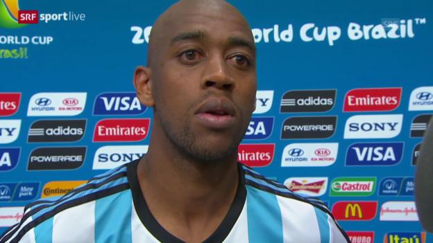 Video «Argentinien - Schweiz: Interview mit Gelson Fernandes» abspielen