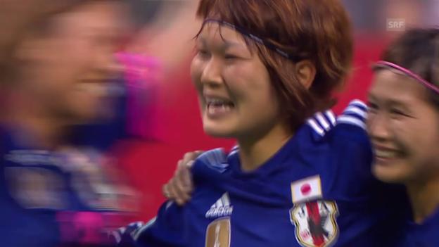 Video «Fussball: Frauen-WM, Japan - Niederlande, 2:0 von Mizuho Sakaguchi» abspielen