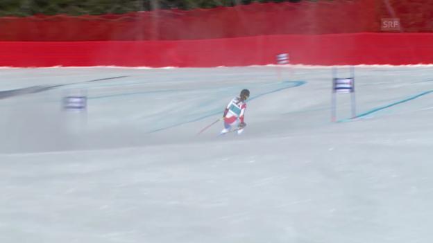 Video «Ski Alpin: Super-G Frauen auf der Lenzerheide, das Out von Fabienne Suter («sportlive», 13.3.2014)» abspielen