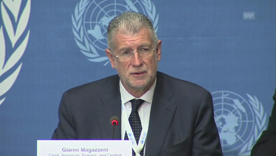 Gianni Magazzeni ist besorgt über die Gewalt (engl.)
