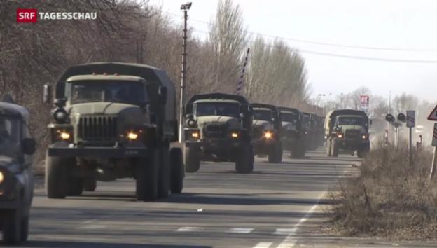 Video «Keine Ruhe in der Ostukraine» abspielen