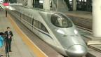 Video «Highspeed-Zug in China» abspielen