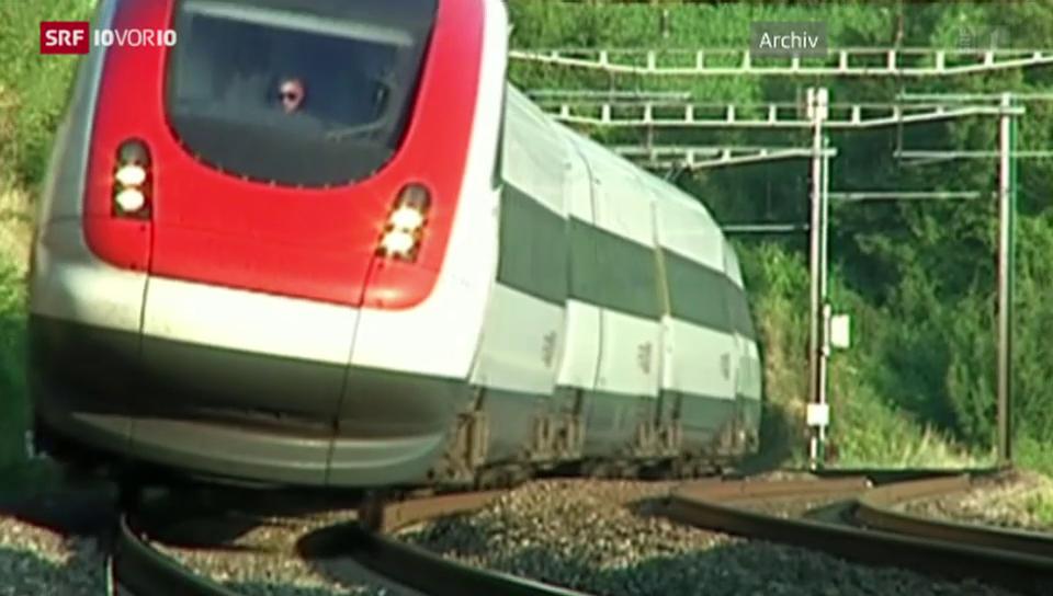 Der neue SBB-Neigezug