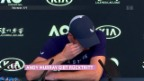 Video «Andy Murray gibt Rücktritt bekannt» abspielen