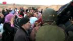 Video «Deutlich mehr syrische Flüchtlinge» abspielen