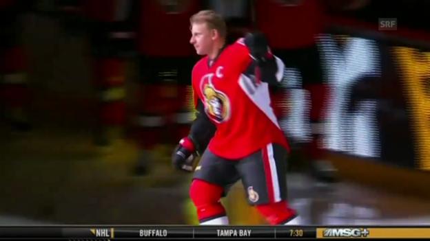 Video «Eishockey: NHL, Alfredssons Abschied» abspielen