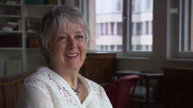Video «Madeleine Hirsch zu ihren Beweggründen, in die Kalkbreite zu ziehen» abspielen