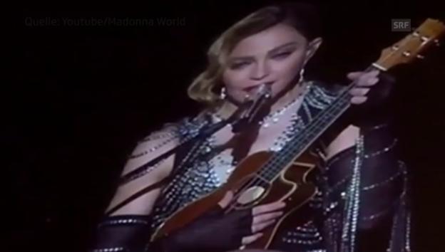 Video «Madonna den Tränen nahe» abspielen