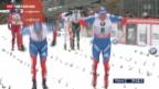 Video «Tour de Ski: Cologna auf Platz 4» abspielen