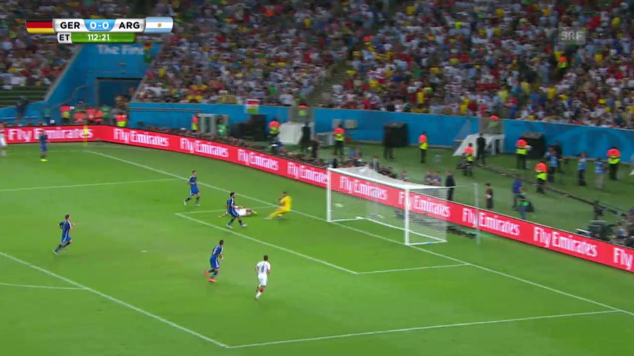 Deutschland - Argentinien: Die Live-Highlights