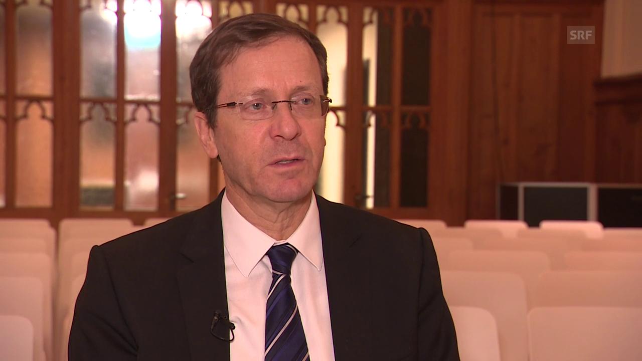 Jitzchak Herzog zu den Eckpunkten des Abkommens