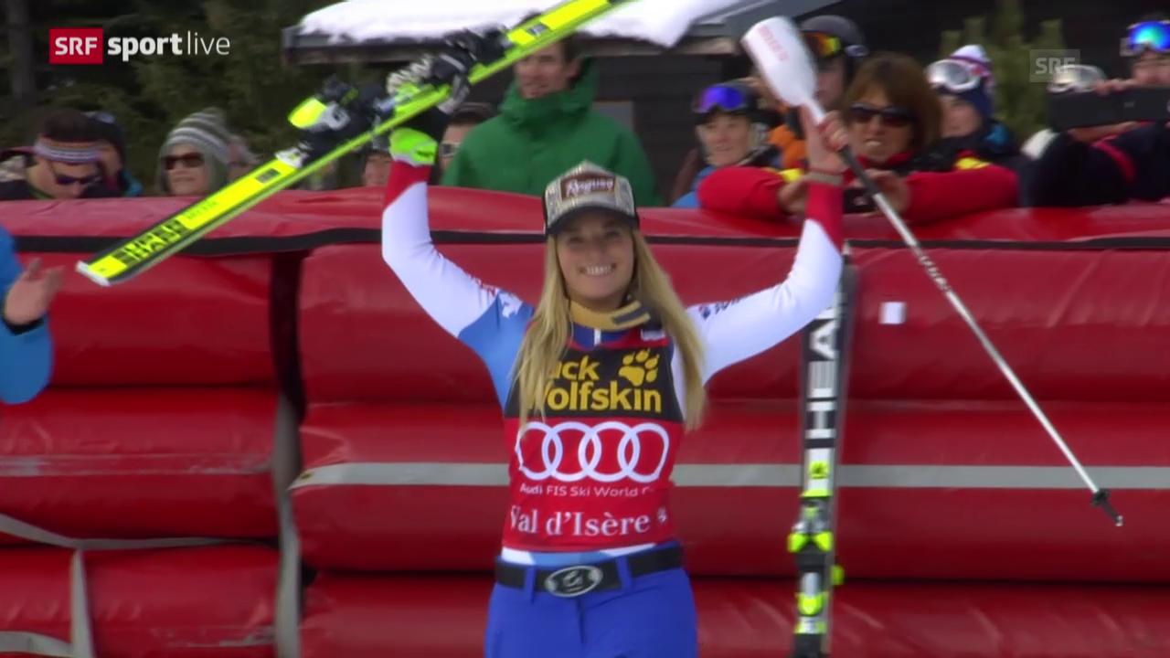 Ski alpin: Zusammenfassung Super-Kombination in Val d'Isere