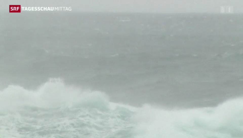 Taifun «Vongfong» wütet in Japan