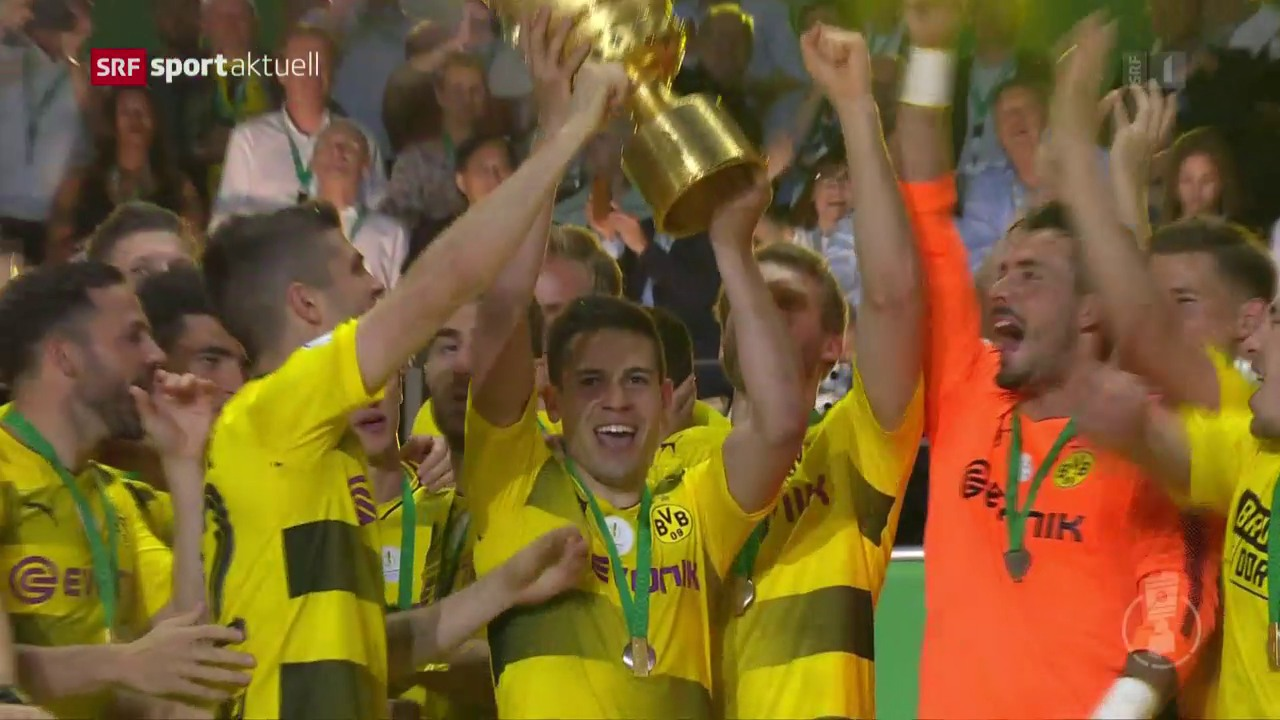 Aubameyang schiesst BVB zum Pokalsieg