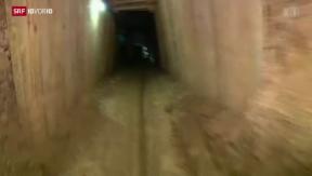 Video «Tunnelsystem im Gazastreifen» abspielen