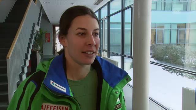 WM-Abfahrt: Interview mit Dominique Gisin